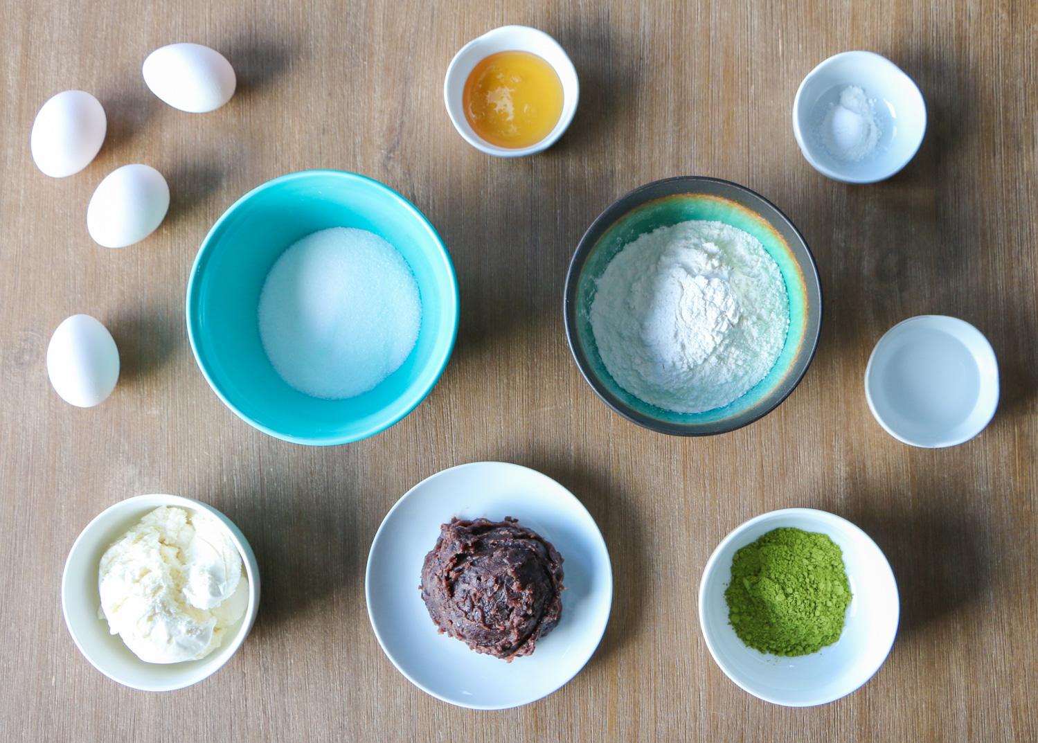 Dorayaki Ingredients