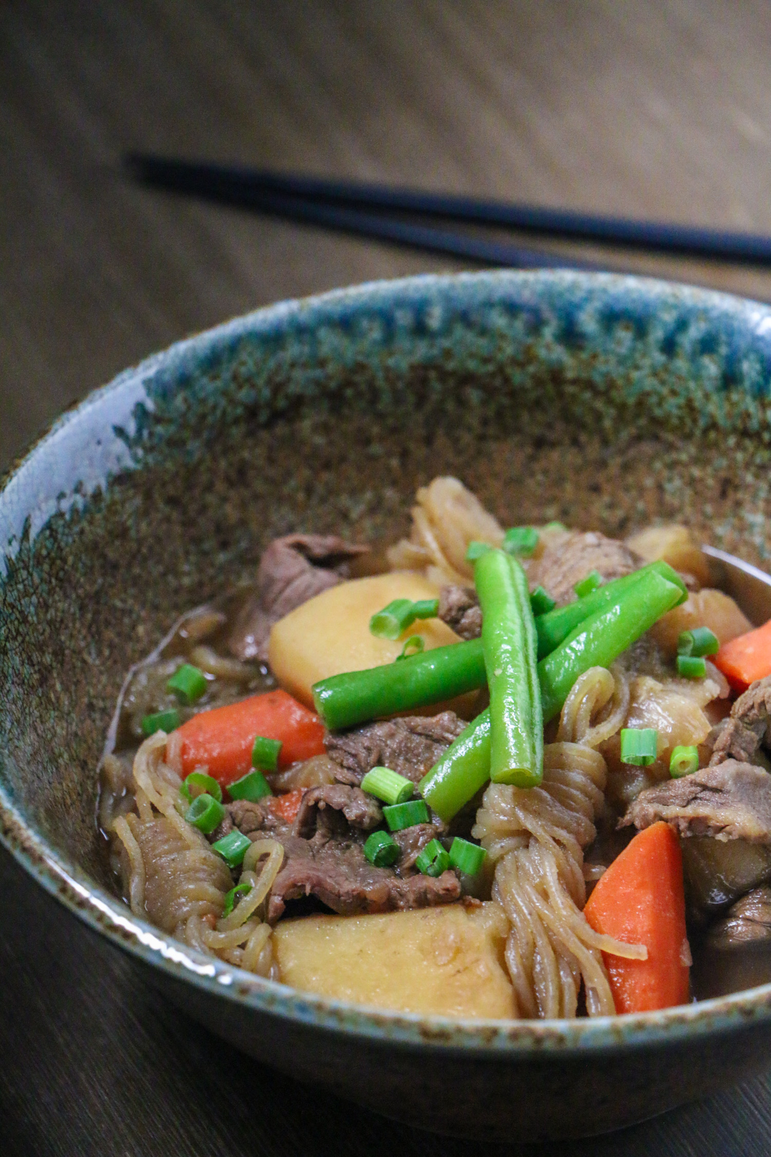 Nikujaga (Japanese Meat and Potato Stew) | Emi Cooks