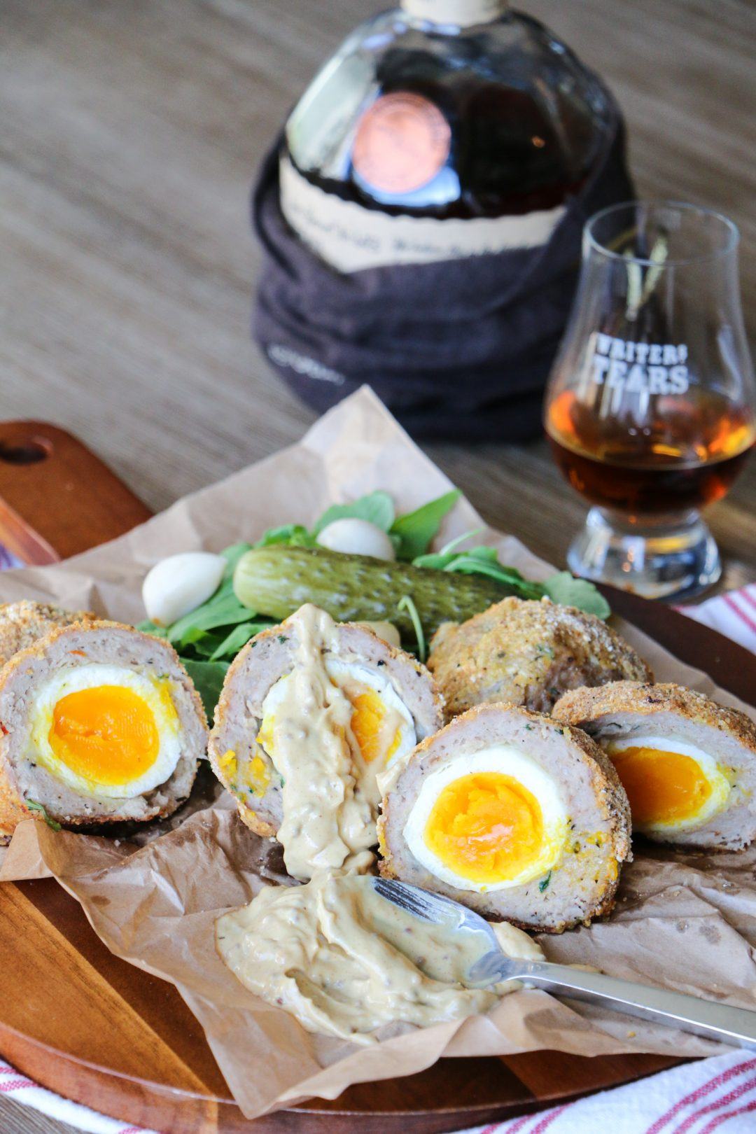 Cooking scotch eggs in the oven best oven 2017 lighter scotch eggs recipe bbc good food forumfinder Choice Image