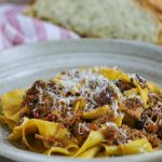 Braised Pork Ragu Papardelle
