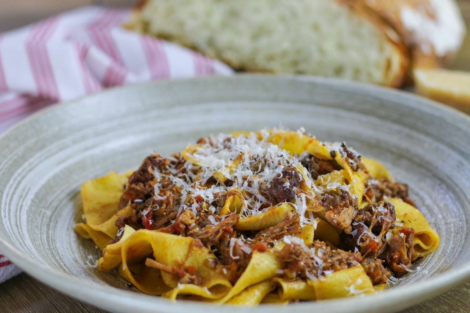 Braised Pork Ragu Papardelle 6